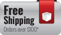 Free shipping on orders over $100 in the U.S., excluding Hawaii and Alaska